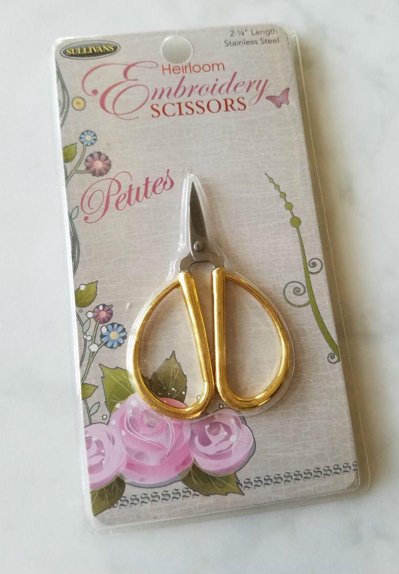 Sullivan's Heirloom Embroidery Scissors Petites