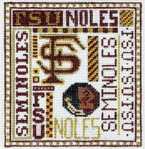 College Needlepoint -  Florida State