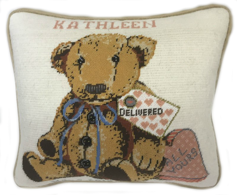 Teddy Bear Needlepoint All Yours