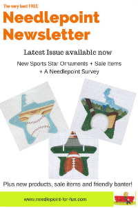 needlepoint newsletter early july 2017