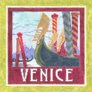 Venice Needlepoint By Sandra Gilmore