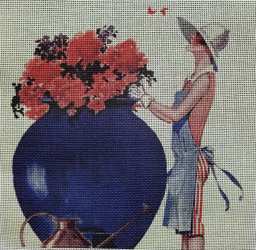 Vintage Magazine Gardening Fashion