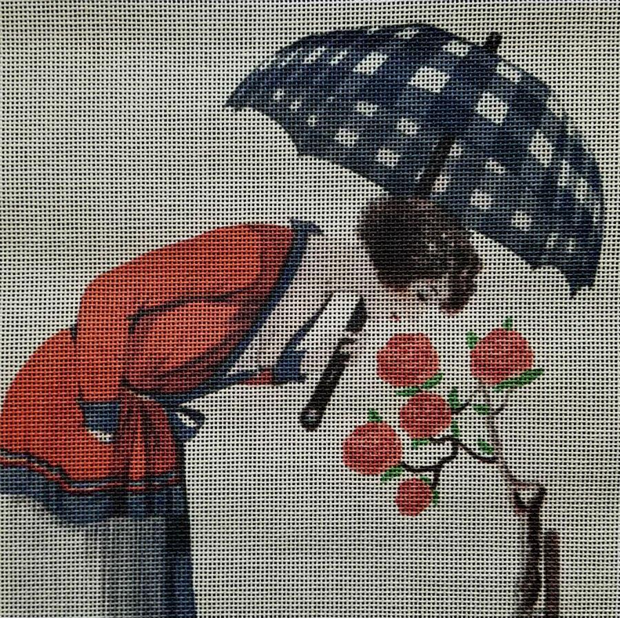 Vintage Magazine Roses Fashion