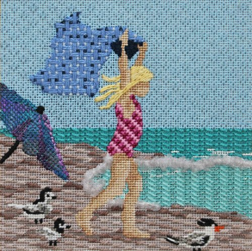 needlepoint water stitch
