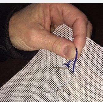 Outline stitch