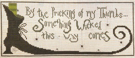 Something Wicked Needlepoint
