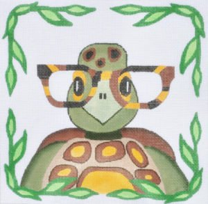 Turtle with glasses