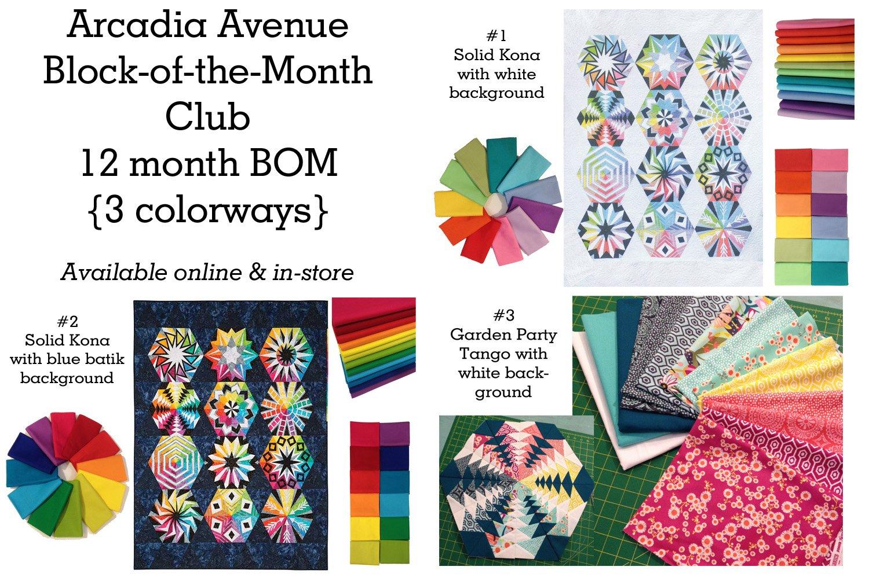 Arcadia Avenue Block of the Month : arcadia quilt pattern - Adamdwight.com