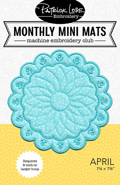 NEW Monthly Mini Mats Club 2020-2021