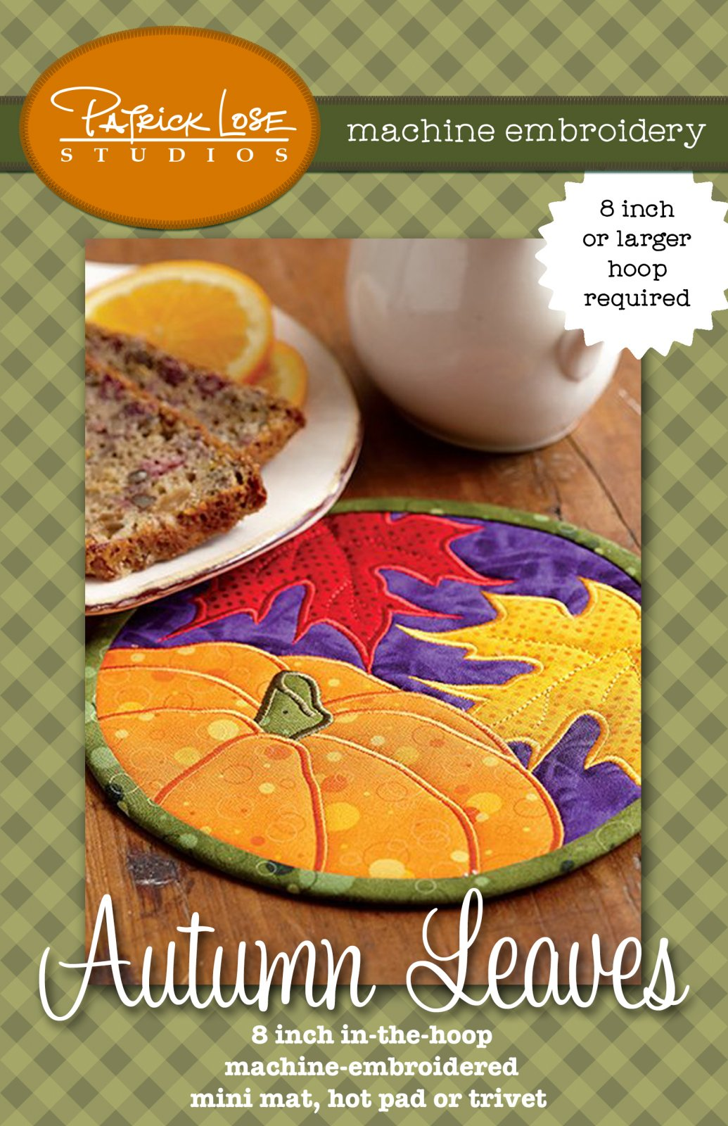 Autumn Leaves mug mat or trivet