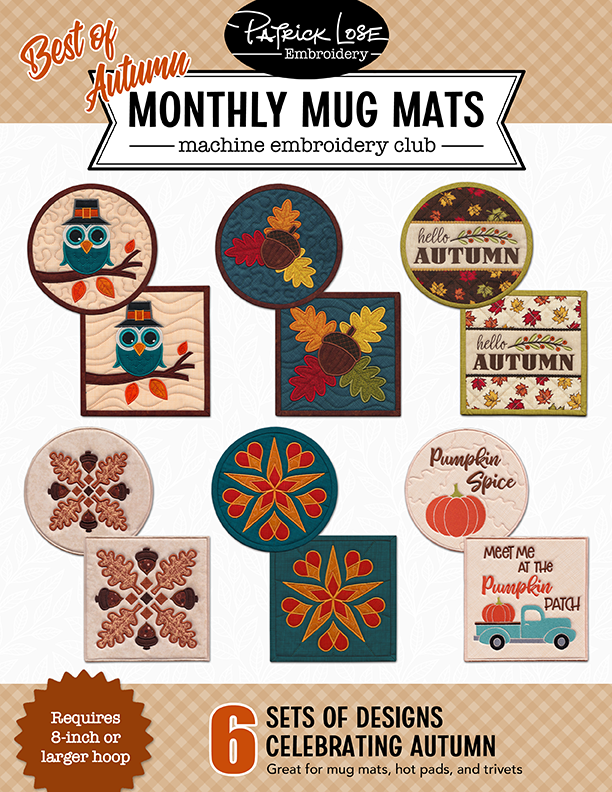 Best of Autumn Monthy Mug Mats