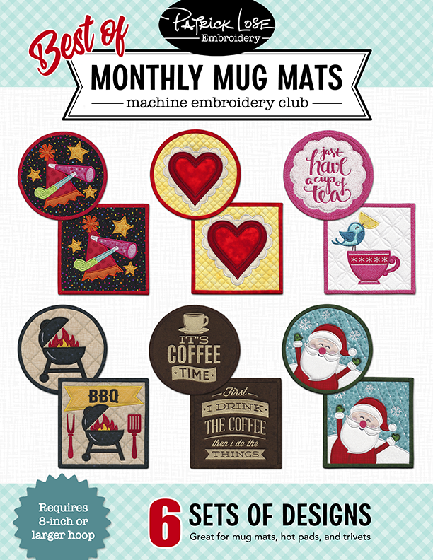 Best of Monthy Mug Mats Sampler