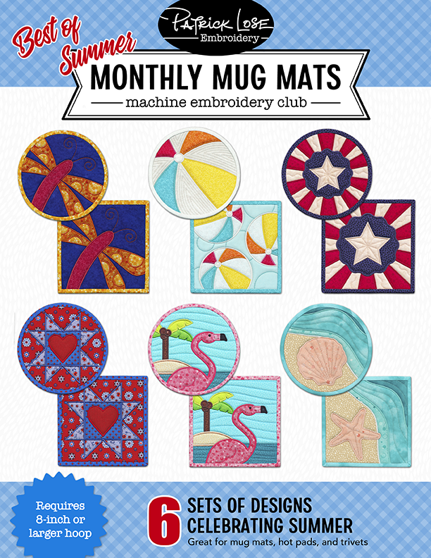 Best of Summer Monthy Mug Mats