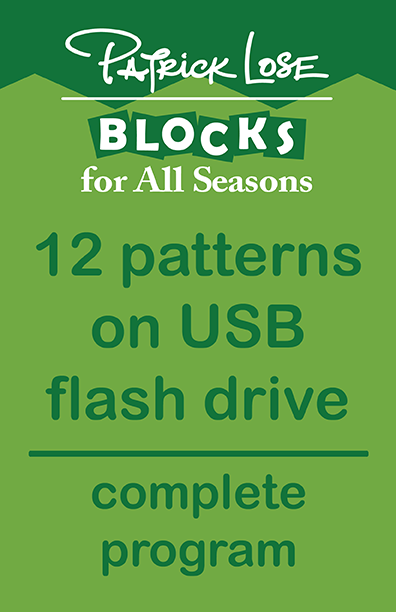 Blocks For All Seasons/complete year on USB flash drive