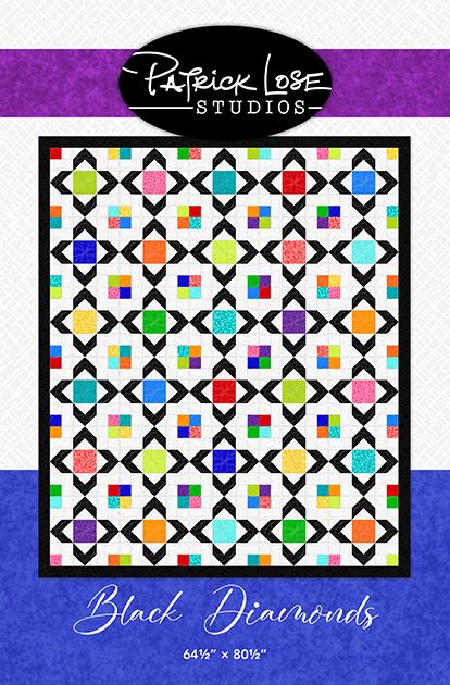 Black Diamonds quilt pattern
