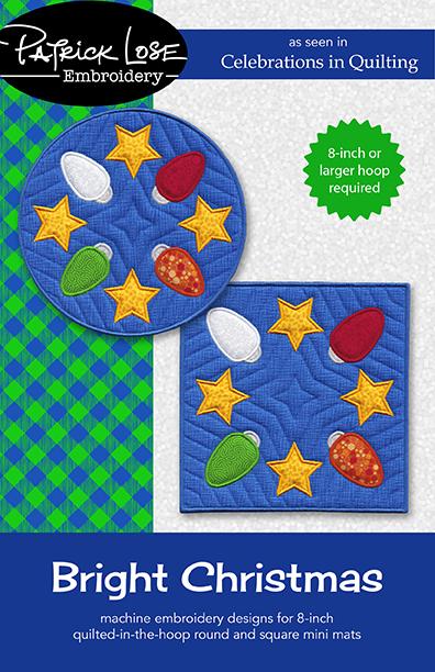 Bright Christmas mini mats