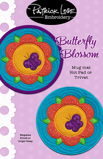 Butterfly Blossom mini mat
