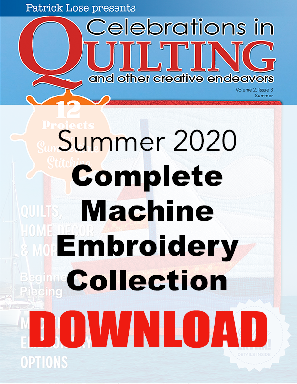 Summer 2020 Complete Machine Embroidery Collection DOWNLOAD
