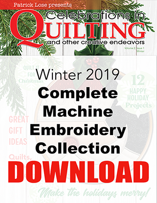 Winter 2019 Complete Machine Embroidery Collection DOWNLOAD
