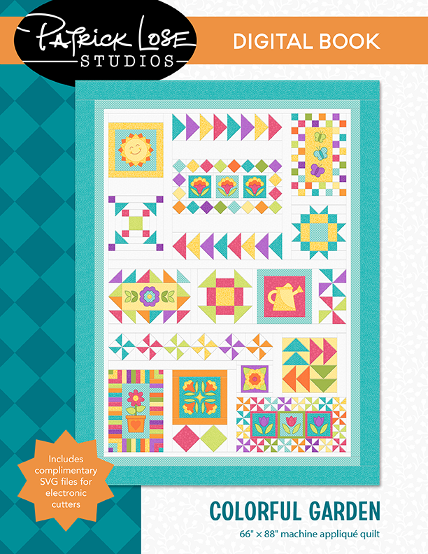 Colorful Garden DIGITAL book