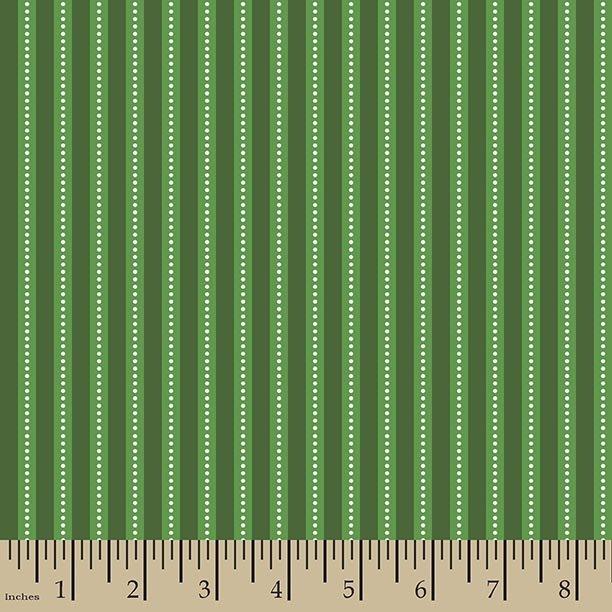 Dotted Strip Green WW