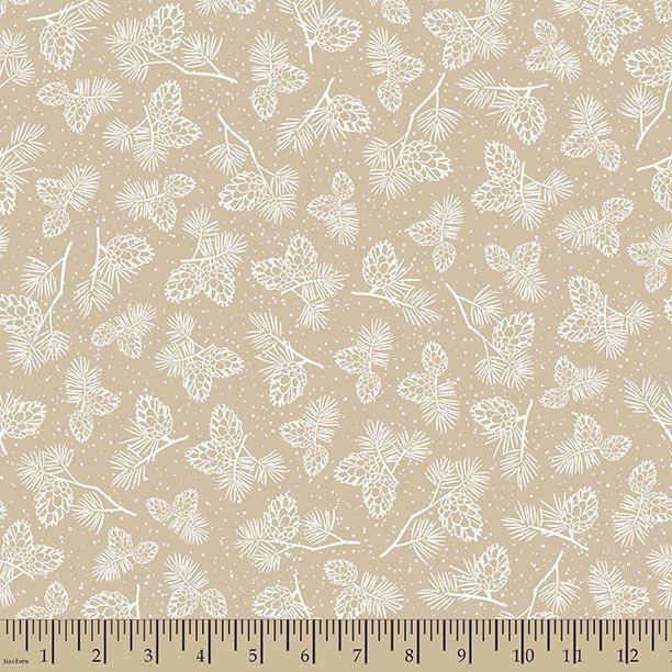 62704 Tan Pine Cones