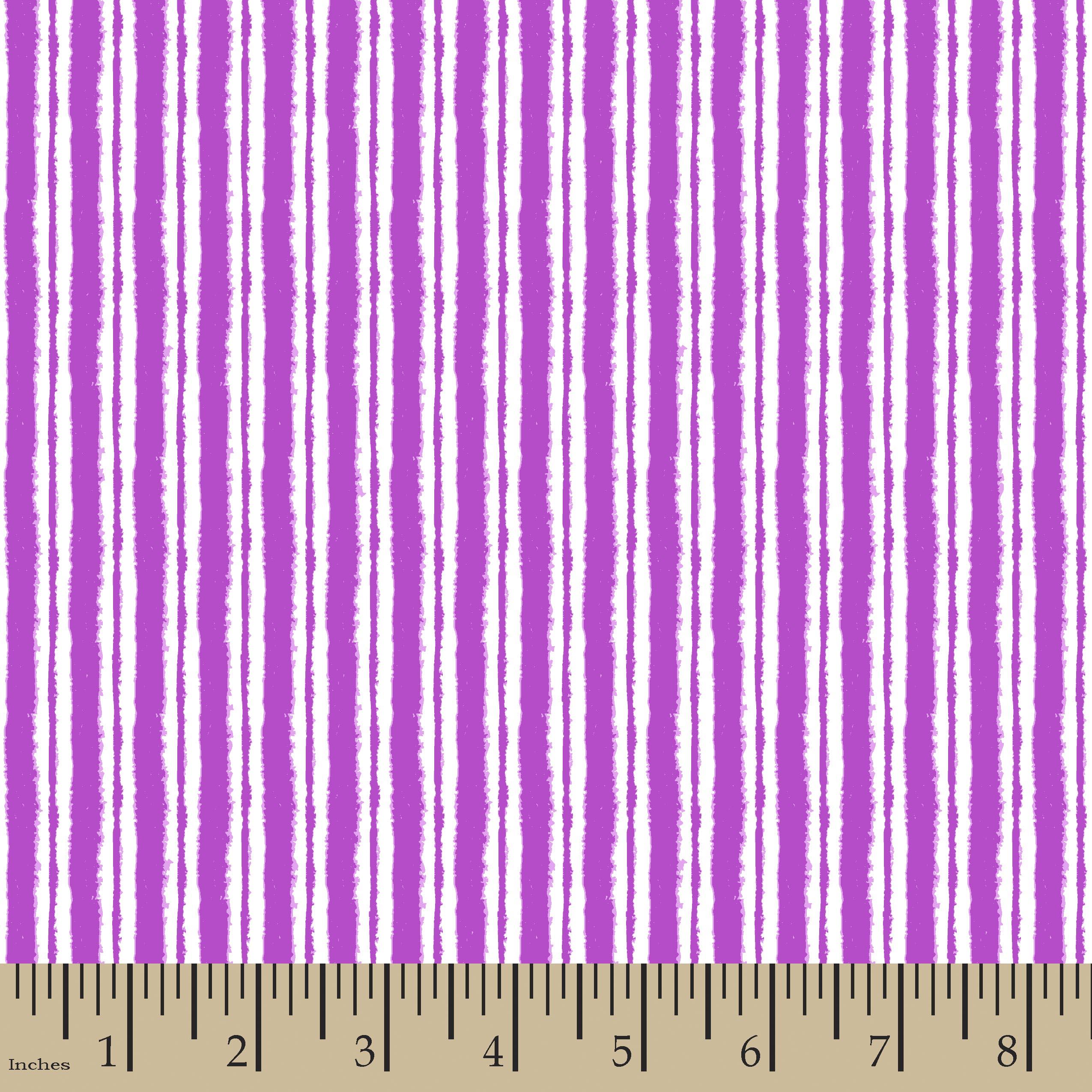 Dry Brushed Stripe Lavender