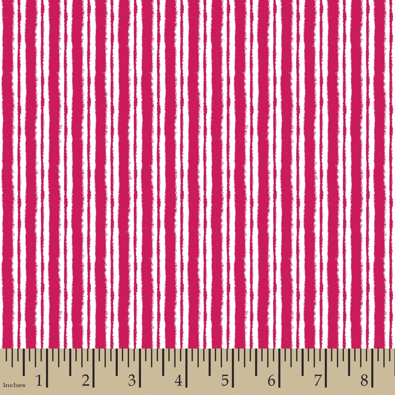 Dry Brushed Stripe Pink