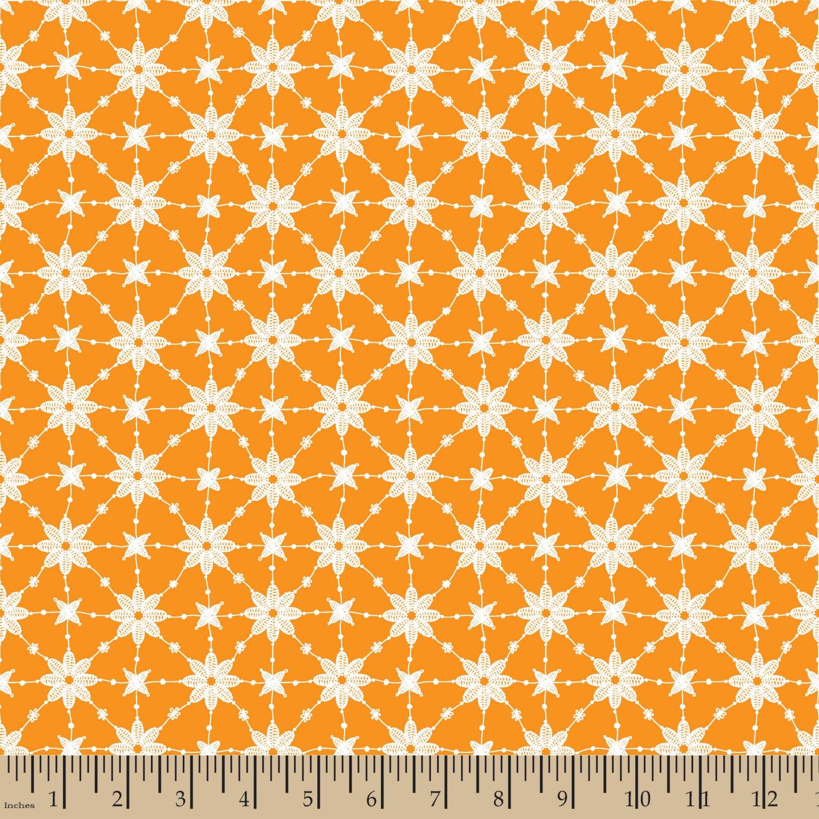 Embroidery Orange