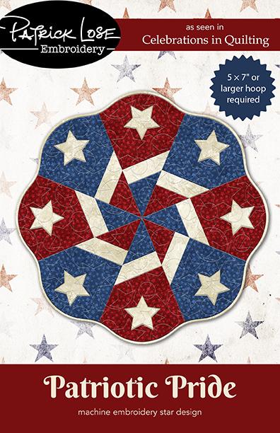 Patriotic Pride star applique