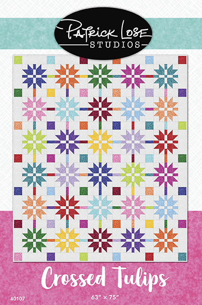 Crossed Tulips Printed Pattern
