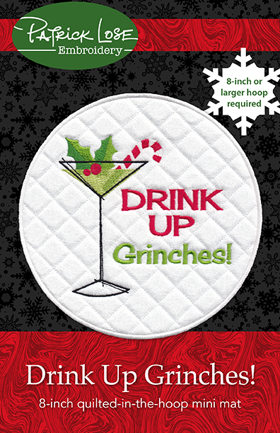 Drink Up Grinches MINI MAT
