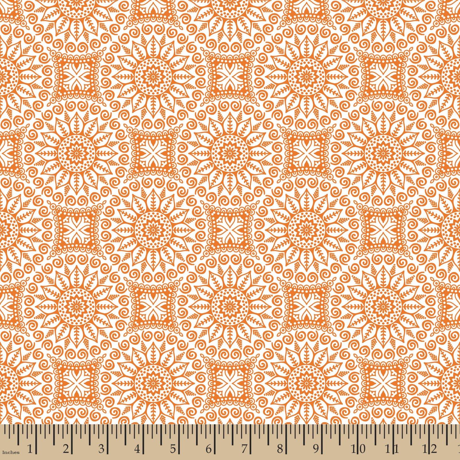 Mandalas Orange
