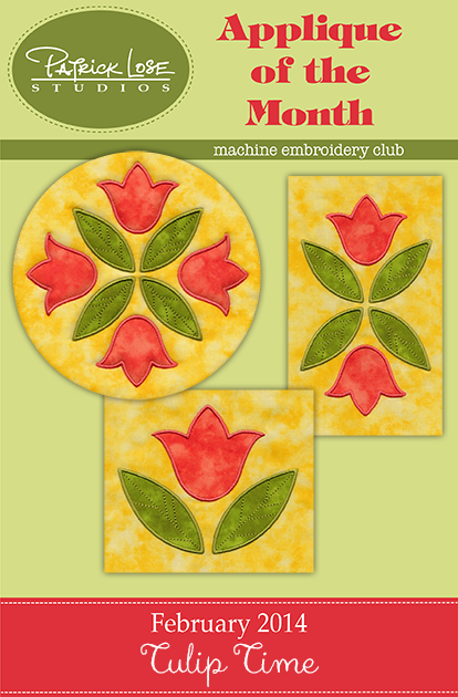 2014 Applique of the Month Club collection