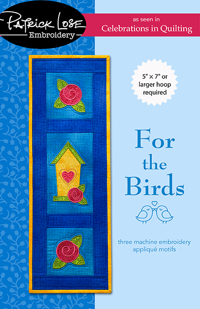 For the Birds embroidery