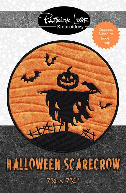Halloween Scarecrow Mini Mat