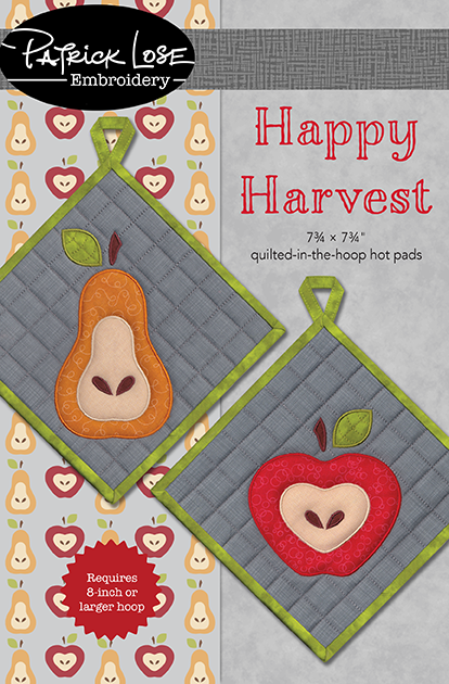 Happy Harvest hot pads Fall 2019 issue