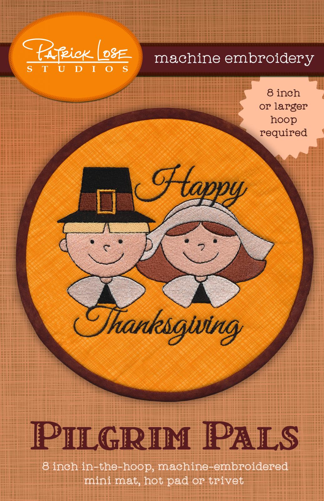 Happy Thanksgiving ITH mini mat