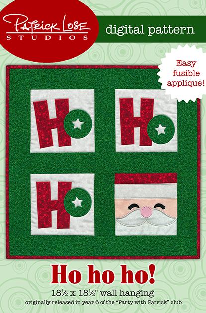 Ho Ho Ho! wall hanging