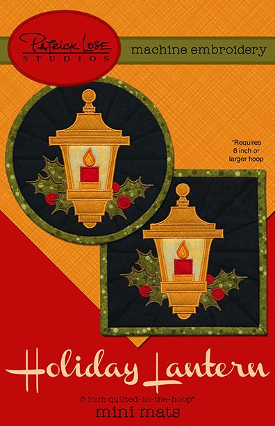 Holiday Lantern mini mats