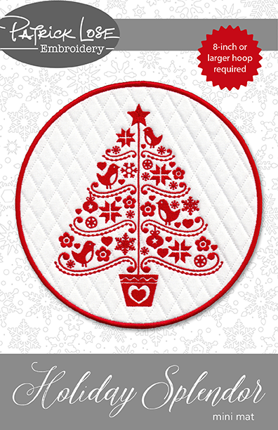 Holiday Splendor mini mat
