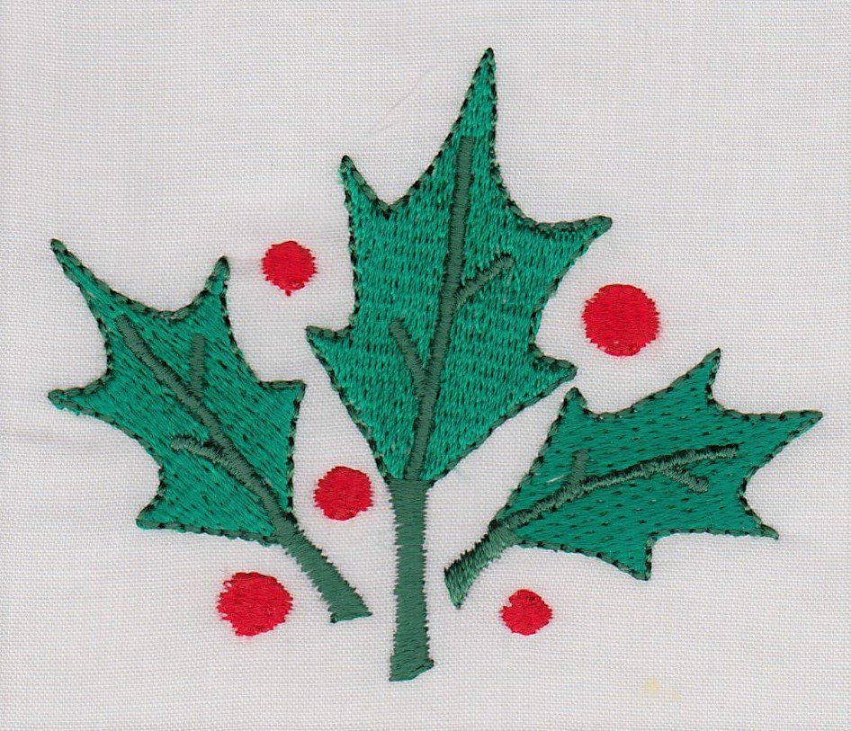 Holly Leaves 4x4