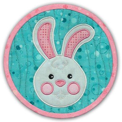 Hoppy Easter mat