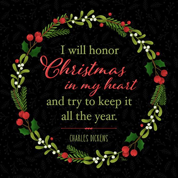Christmas in My Heart black