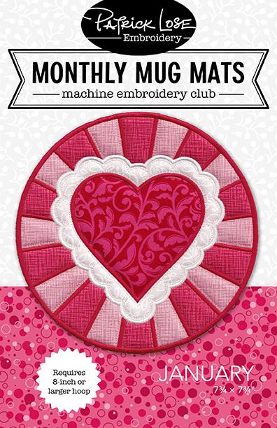 NEW Monthly Mug Mats Club 2019/65% discount!