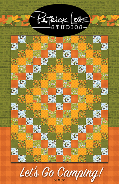 Let's Go Camping quilt