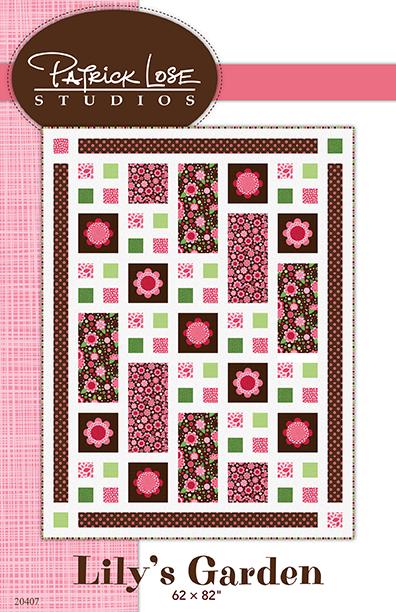 Lily's Garden quilt digital pattern