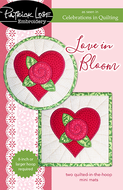 Love in Bloom embroidery