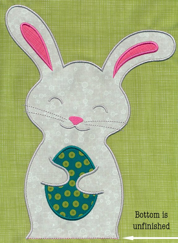 Easter Buddy SMALL 5x7 hoop