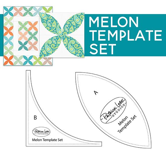 Boho Happy Melon Block Template Set